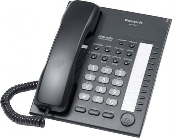 panasonic kx t7750 black new refurbished from 42 00 pmc telecom rh pmctelecom co uk Panasonic Kx- Tg270 Sim Panasonic Phone Manual User Guide