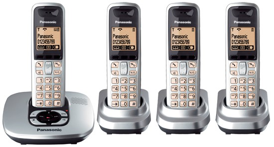 Panasonic KX-TG6424 Cordless DECT Phone & Digital Answering Machine