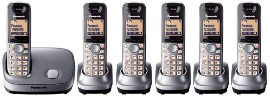 Panasonic KX-TG6516 Sextet Cordless Phone