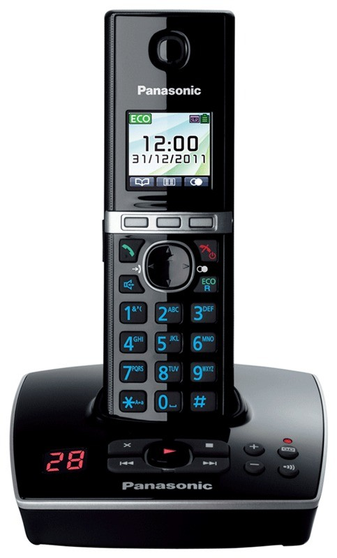 Panasonic KX-TG8065EB DECT Cordless Phone With Answering Machine - Quint Pack