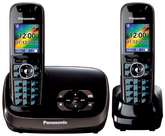 Panasonic KX-TG8522 Twin Cordless Phones With Answermachine