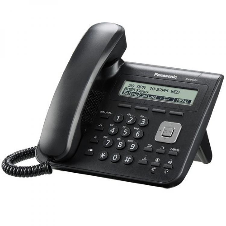 Panasonic KX-UT123X SIP Telephone - Black