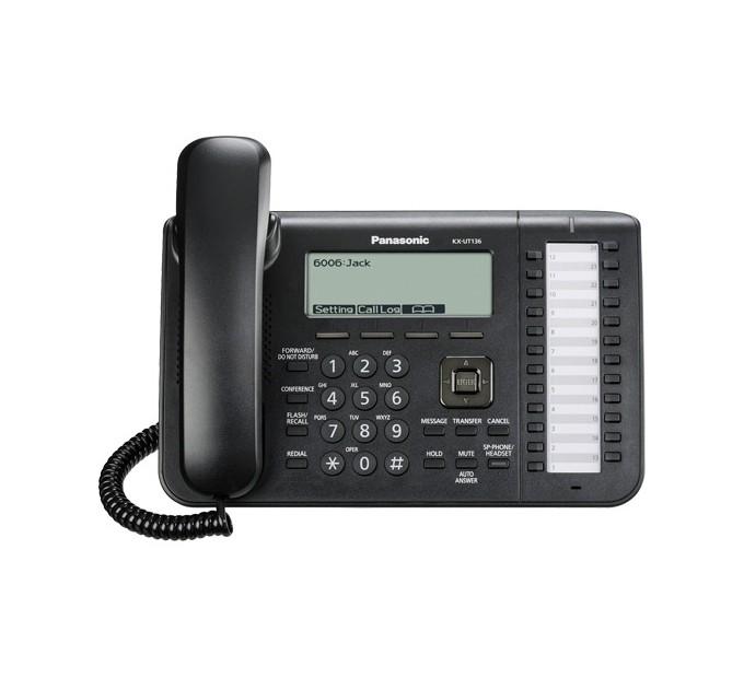 Panasonic KX-UT136X SIP Telephone - Black