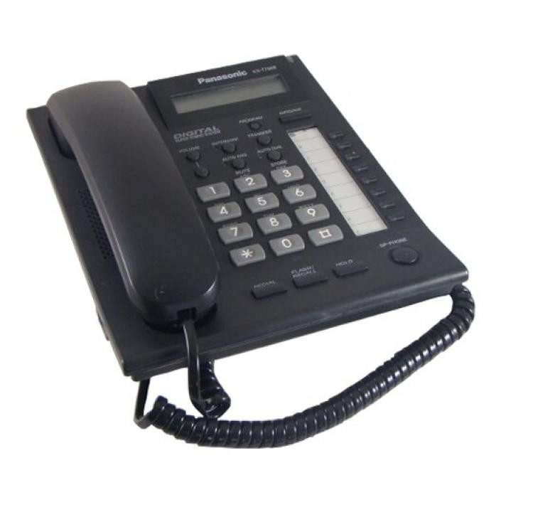 Panasonic KX-T7668 Digital Handset - Black A-Grade