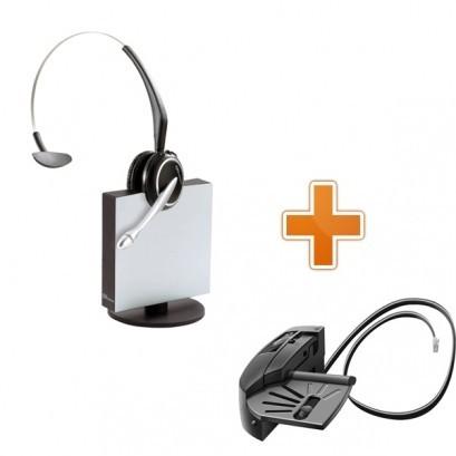 GN Netcom Jabra 9120 DECT Midi Boom + GN1000 Handset Lifter - A Grade