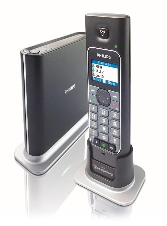 Philips VoIP 433 with Windows LIVE Messenger support