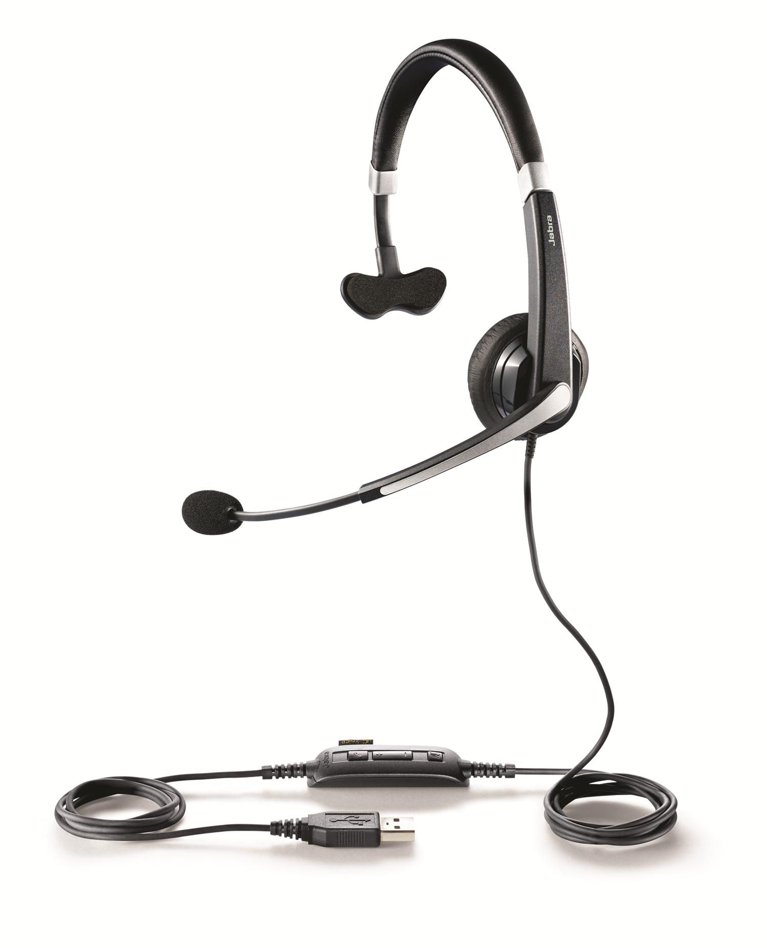 Jabra UC Voice 550 Ms Lync USB Monaural Headset