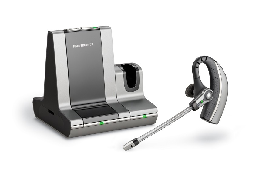 Plantronics Savi Office WO200 Over the ear Cordless headset for PC and Desk Phone