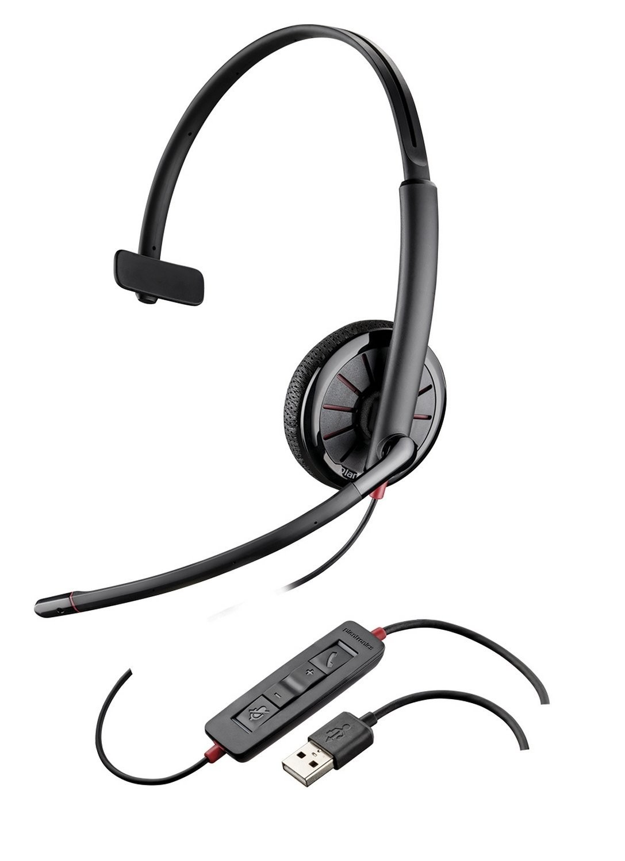 Plantronics Plx C315.1 Mono 3.5mm/USB Headset For PC / Gaming
