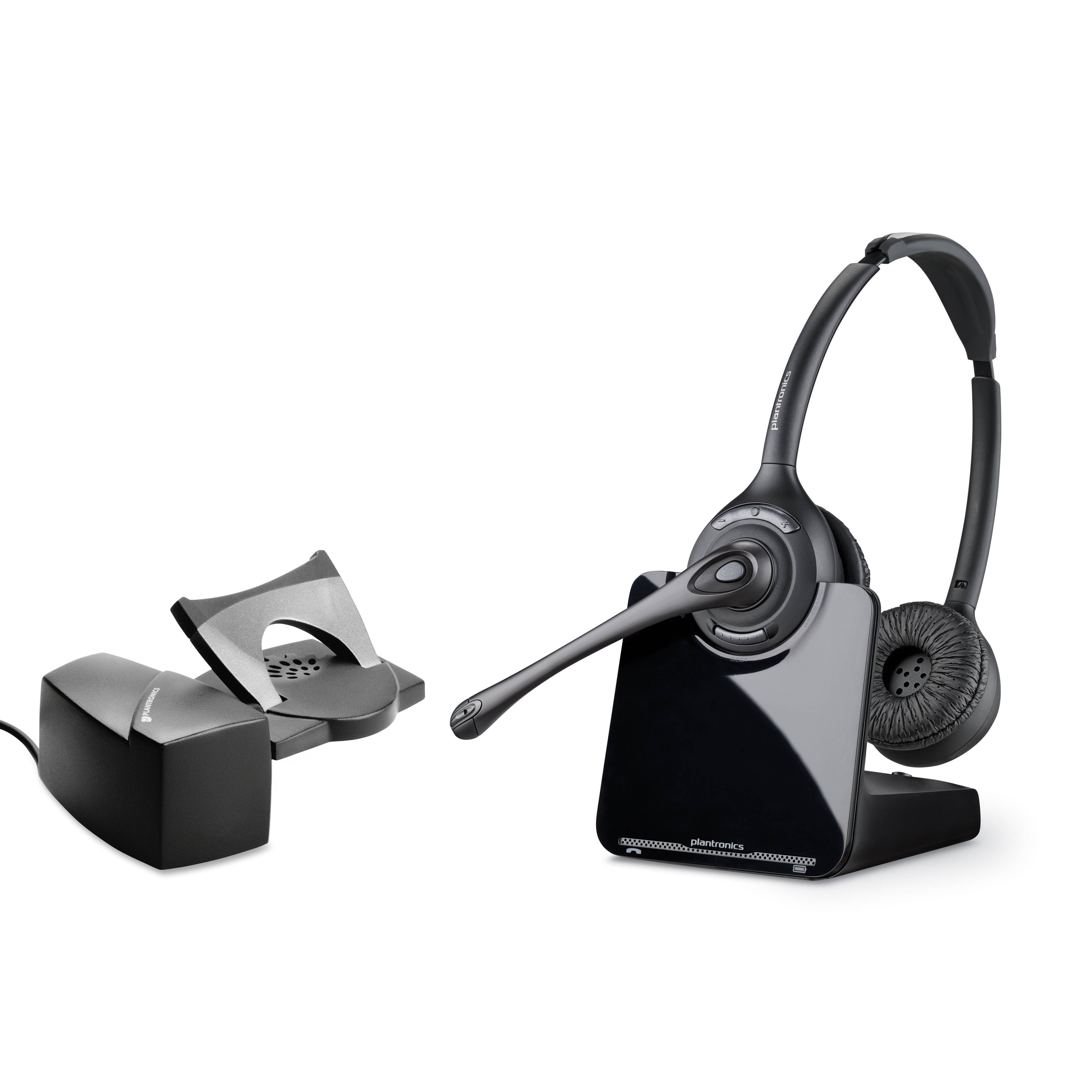 Plantronics CS520 Binaural DECT Cordless Headset & Handset Lifter