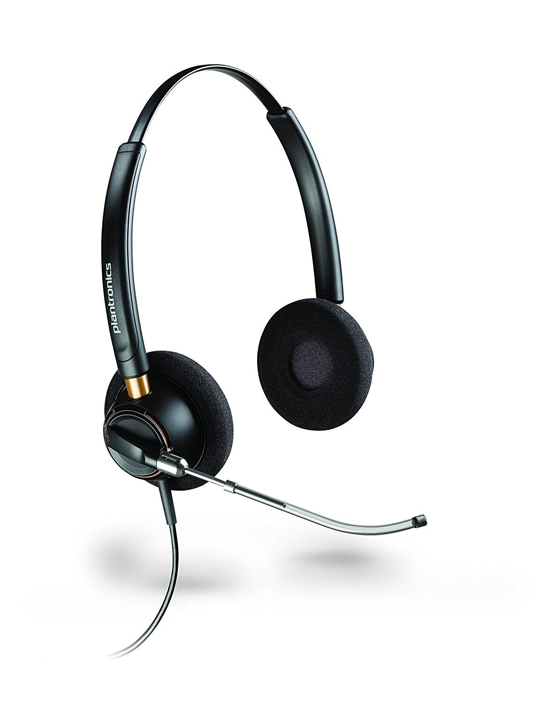 Plantronics Encorepro HW520V Binaural Voicetube Office Headset