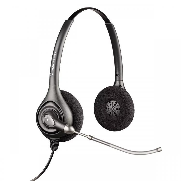 Plantronics HW261 Supraplus Wideband Binaural Office Headset