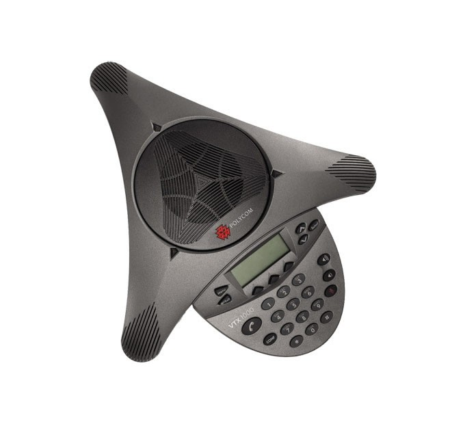 Polycom Soundstation VTX1000 HD Voice Audio Conferencing Phone