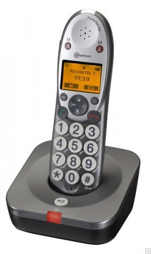 Amplicom Powertel 500 Cordless Telephone