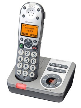 Amplicomms Powertel 780 Amplified DECT Cordless Telephone With Answering Machine