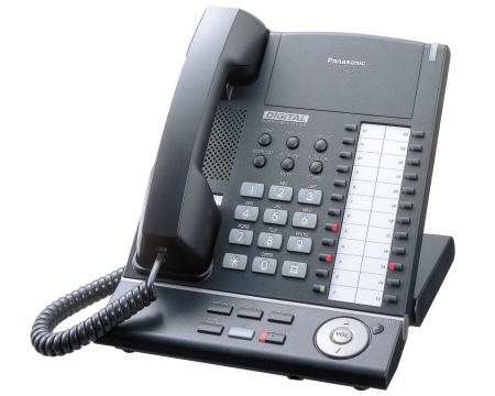 Panasonic KX-T7625 Handset - Black