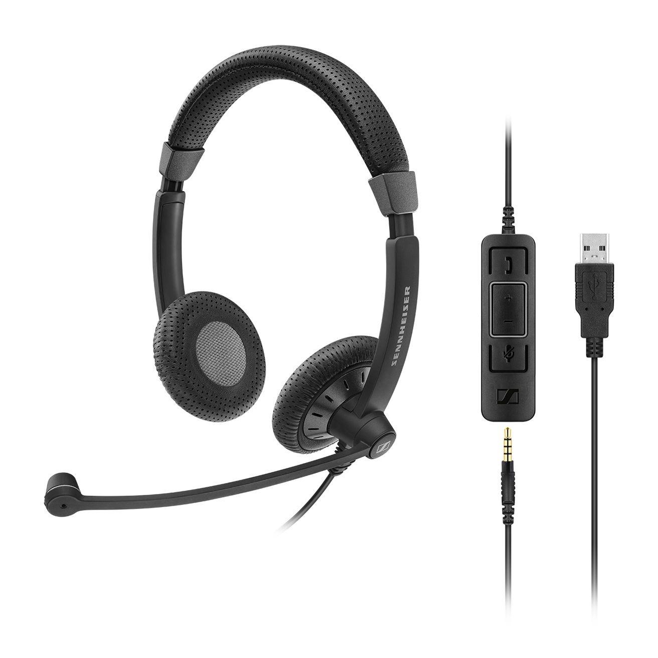 Sennheiser SC75 Duo USB CTRL Headset