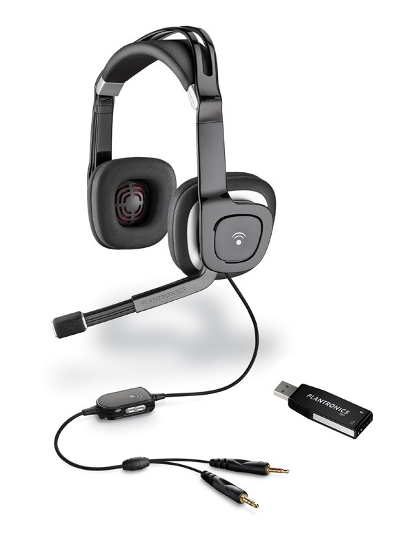 Plantronics .Audio 750 DSP USB Computer Headset