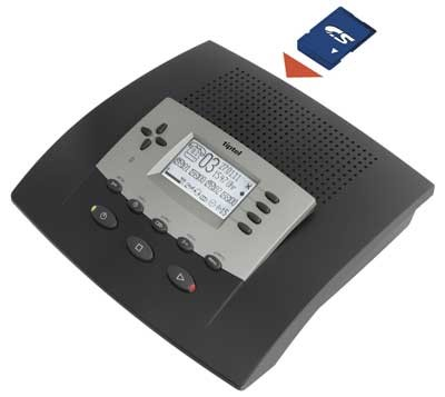 Tiptel 540 SD Business Answering Machine