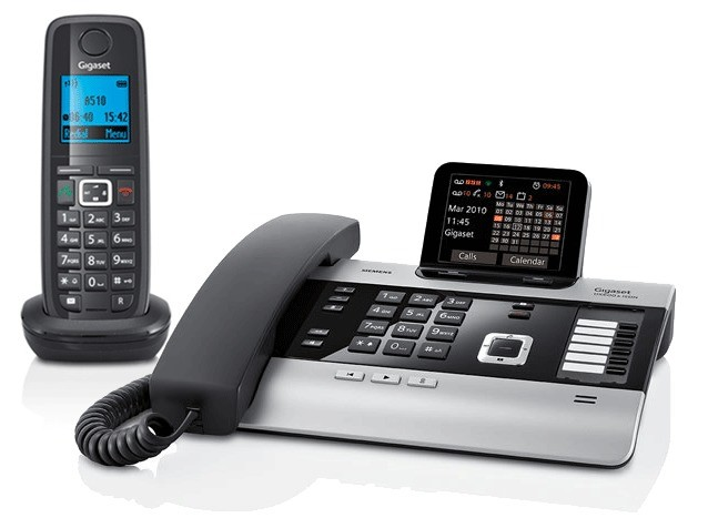 Gigaset DX800A All In One Telephone and A510H Additional Handset