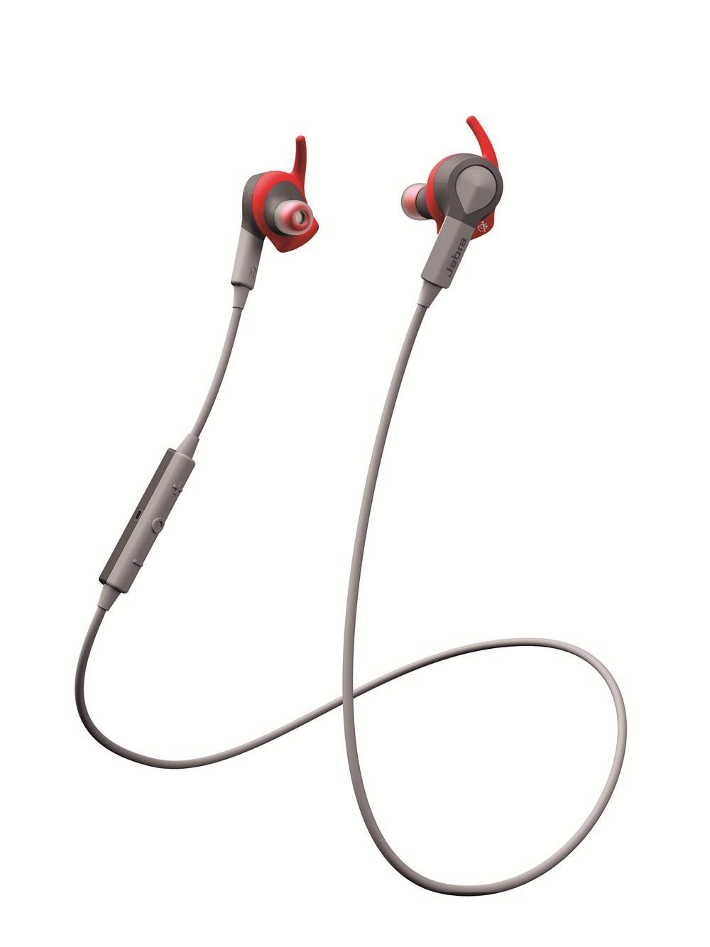 Jabra Sport Coach Wireless Bluetooth Headphones - Red