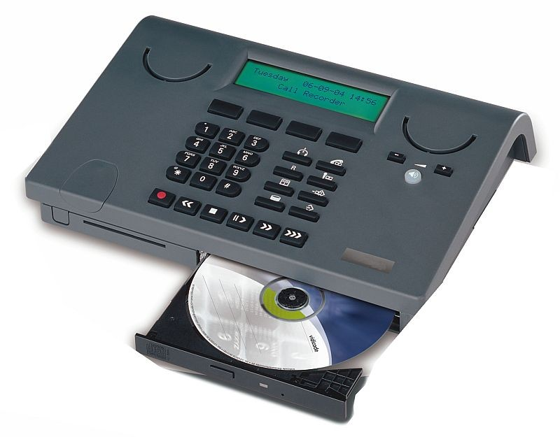 Retell CD300 Phone With Built In CD Writer Recorder