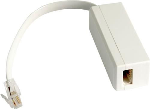 ISDN Adaptor RJ45 Plug to RJ45 Socket