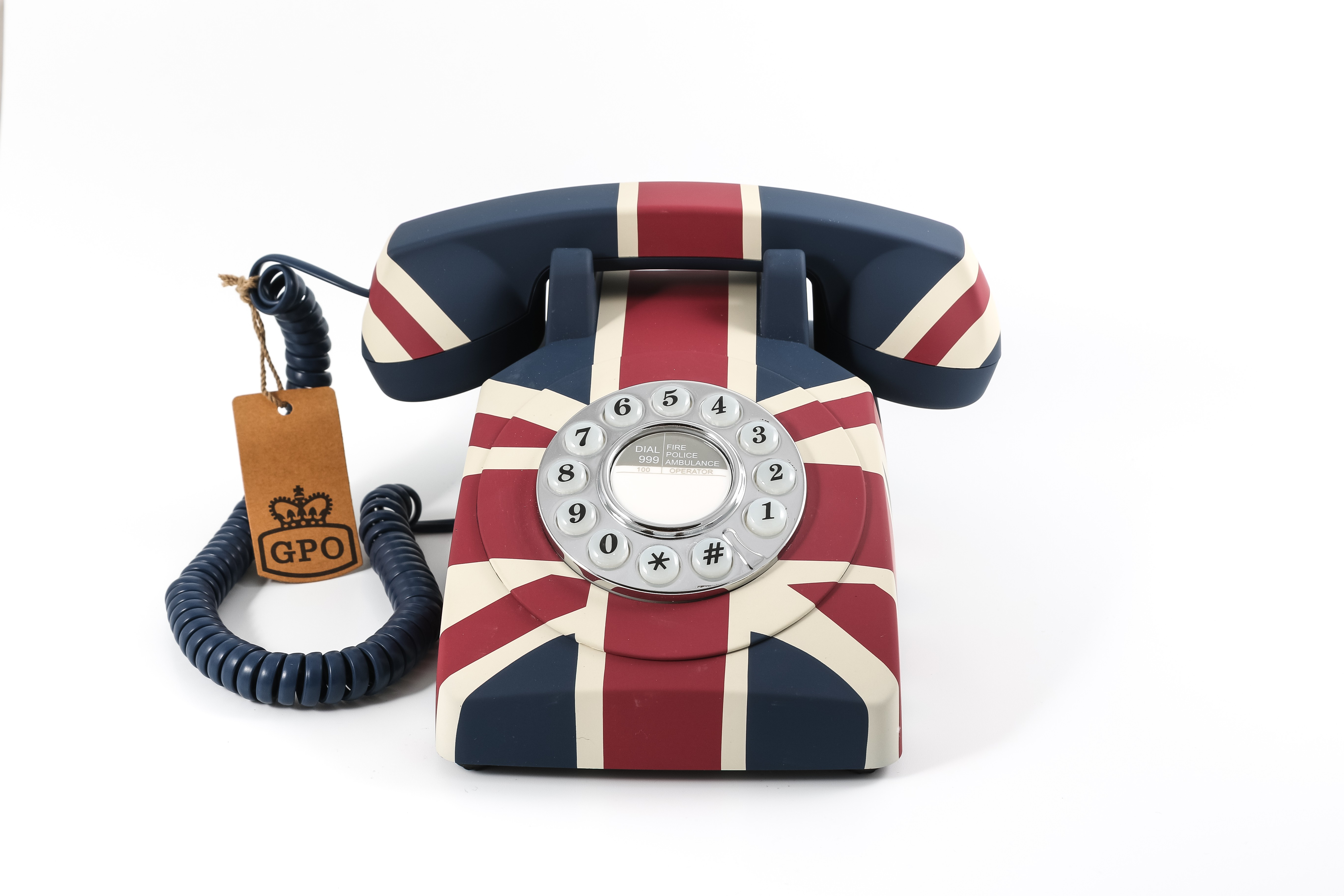GPO 1970's Classic Retro Push Button Telephone - Union