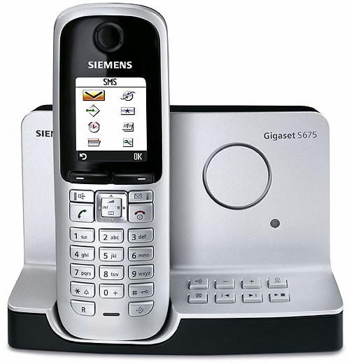 Siemens Gigaset S675 DECT Phone with Answering Machine