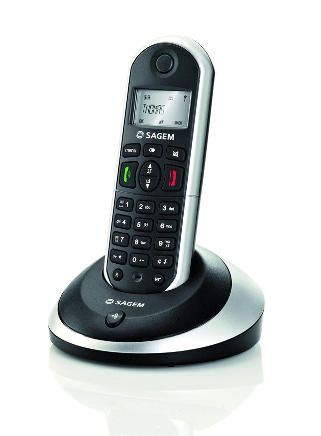 Sagemcom D16T DECT Cordless Phone