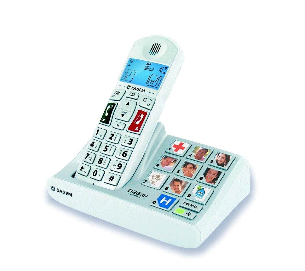 Sagemcom D23XP DECT Cordless Phone