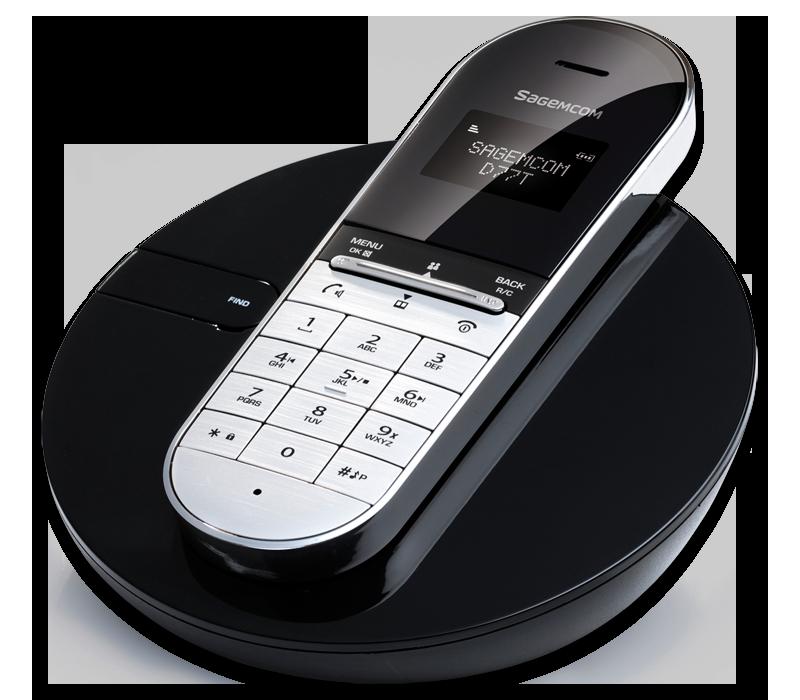 Sagemcom D77T DECT Cordless Phone