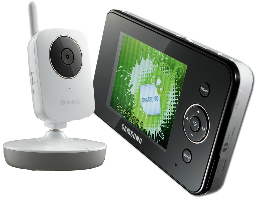 Samsung Colour 3.5 inch Digital Video Baby Monitor Camera