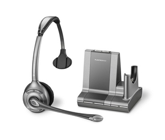 Plantronics Savi Office WO300 Wireless Monaural Headset for PC and Desk Phone