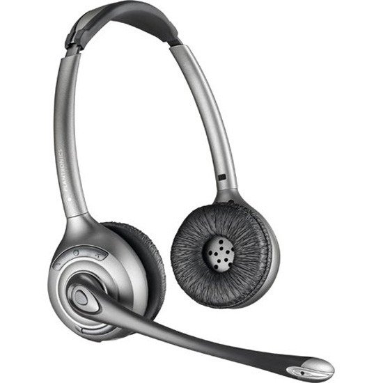Plantronics Savi Office WO350 Wireless Binaural Headset for PC and Desk Phone