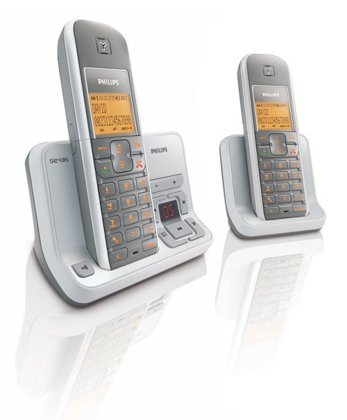 Philips SE4352 DECT Twin with SIM Reader and Answering Machine