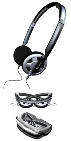 Sennheiser PX 100 II Supra-Aural Folding Headphones