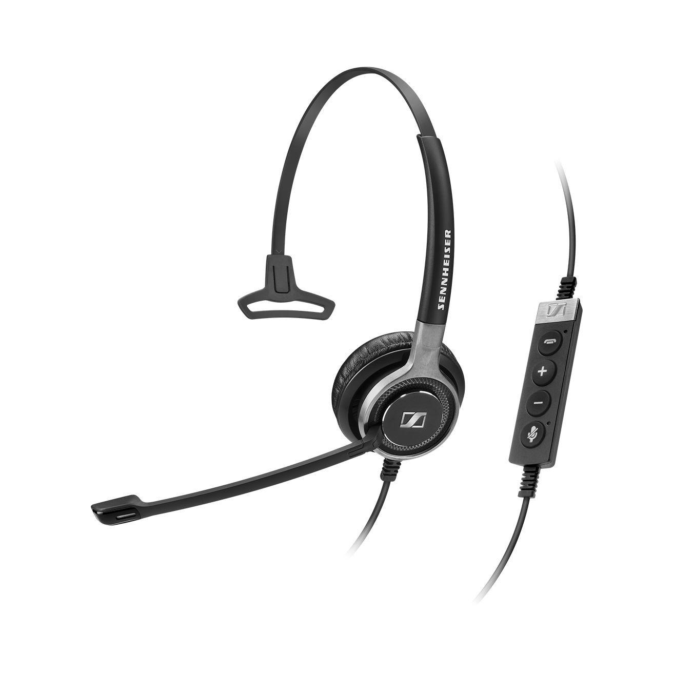 Sennheiser Century SC630 Monaural USB Ctrl Ms Lync Headset