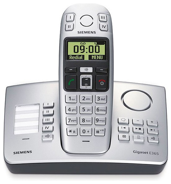 Siemens Gigaset E365 Big Button DECT with Answering machine