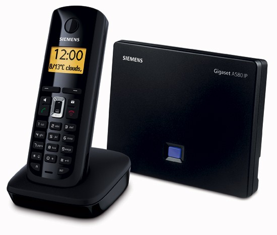 Siemens Gigaset A580 IP Cordless Phone for VoIP
