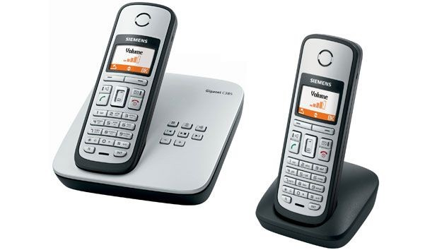 Siemens Gigaset C385 Cordless Phone - Twin Pack