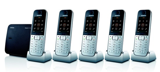 Siemens Gigaset SL785 Quint High End Cordless Telephone with Bluetooth
