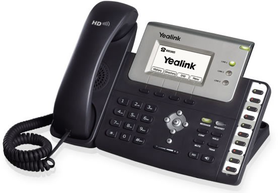 Yealink SIP T26P Senior IP Phone With PoE