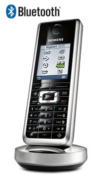 Siemens Gigaset SL565 Cordless Phone with Bluetooth Quad Pack
