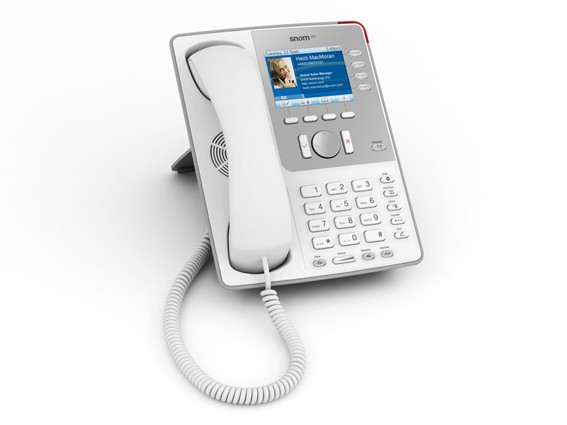 Snom 821 IP SIP Executive Business Telephone - White
