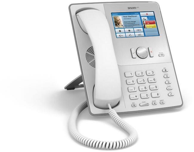 Snom 870 Premium Business Phone - White - Including PSU