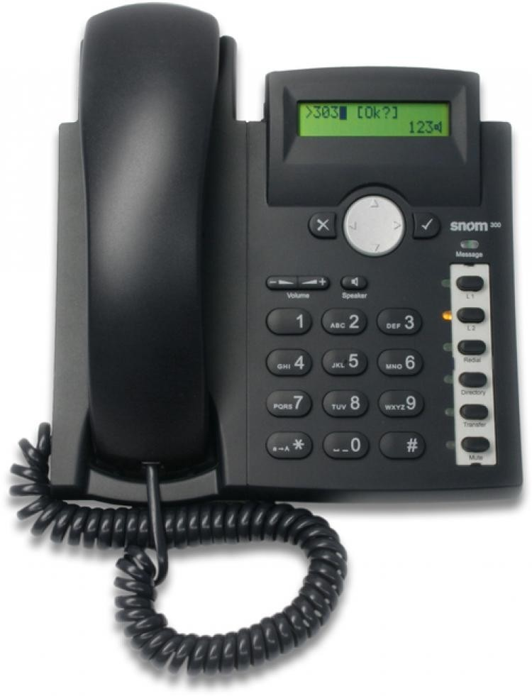 Snom 300 SIP IP Telephone with PoE