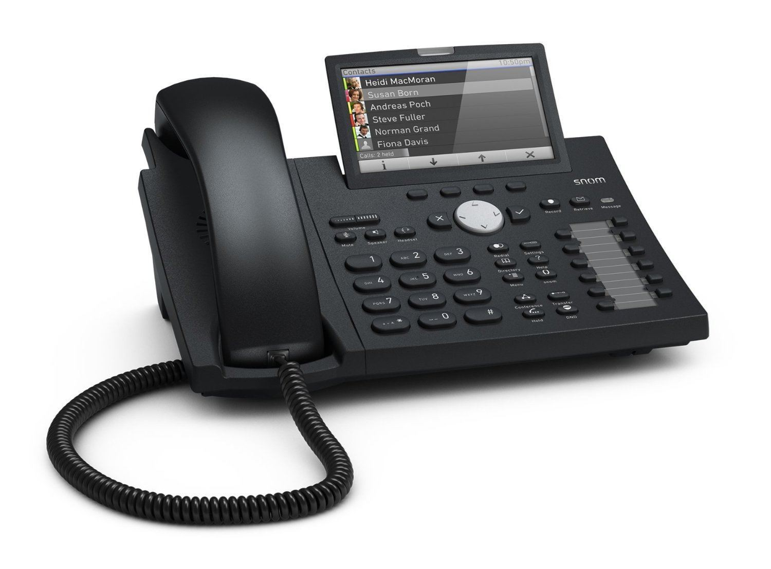 Snom D375 Voip Sip Telephone From 163 164 58 00004141