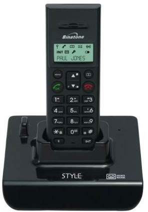 Binatone Style 1210 Single DECT Phone with Answering Machine