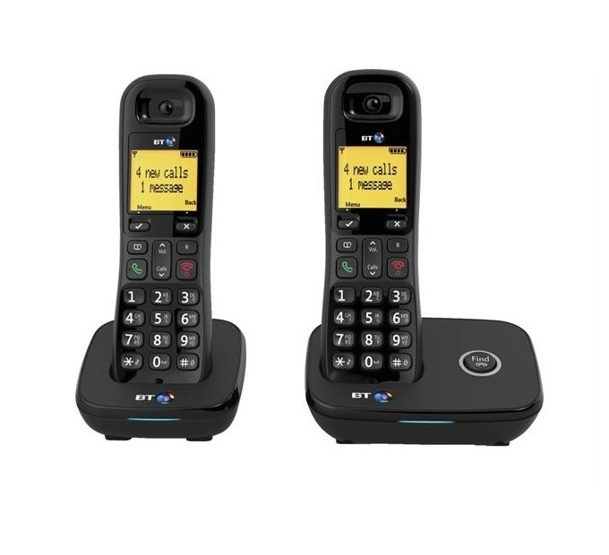 BT 1100 DECT Cordless Phone - Twin Pack